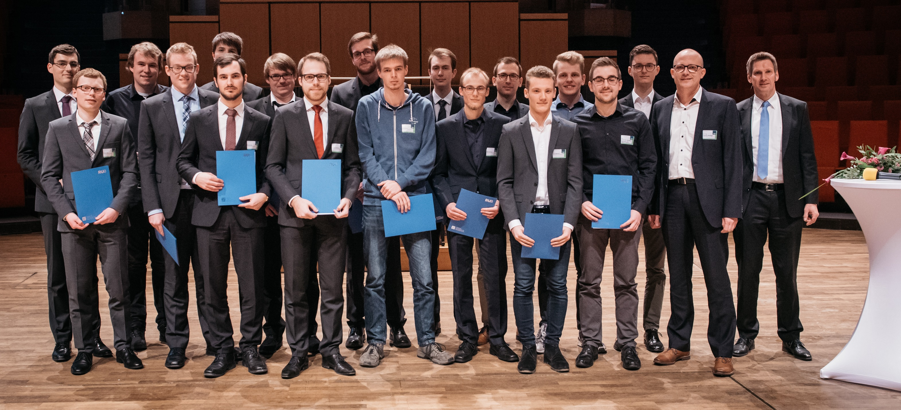 Winners of the ESCRYPT Young Talent Award 2019 at Ruhr-Universität Bochum