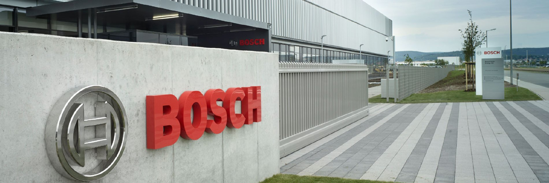 Security plus multiple benefits: we are a Bosch Group company.